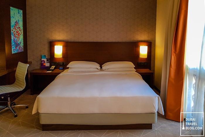 hyatt place dubai wasl bedroom