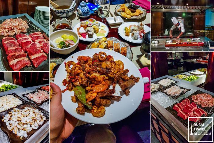 teppanyaki restaurant minato dubai