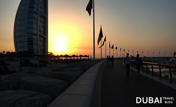 walk burj al arab