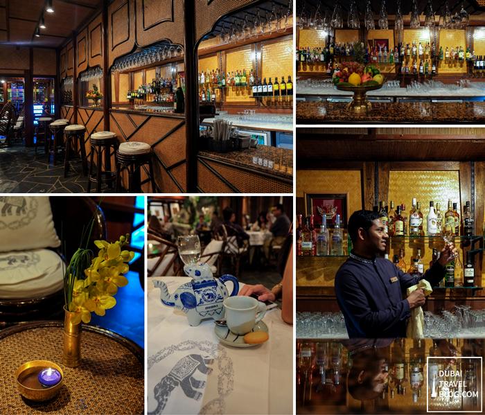 blue elephant restaurant al bustan dubai