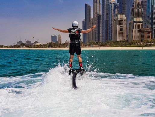 Flyboard Adventure at JBR Beach by Hydro Water Sports Dubai