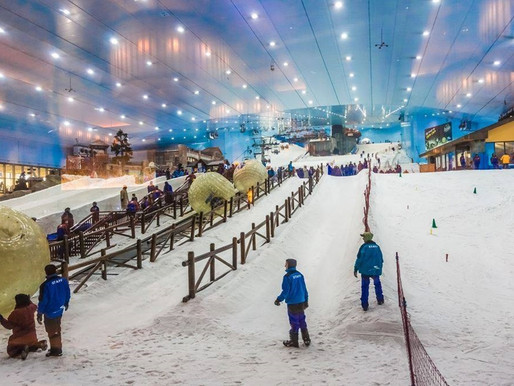 Book Tickets: Ski Dubai