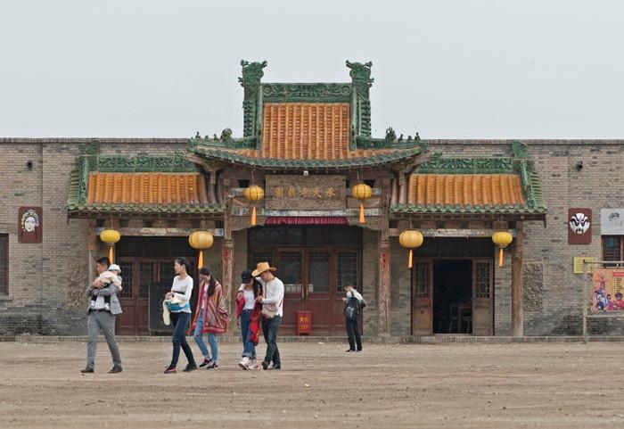 china movie set yinchuan
