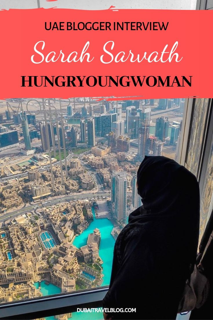 Sarah Sarvath Blogger Interview Hungryoungwoman