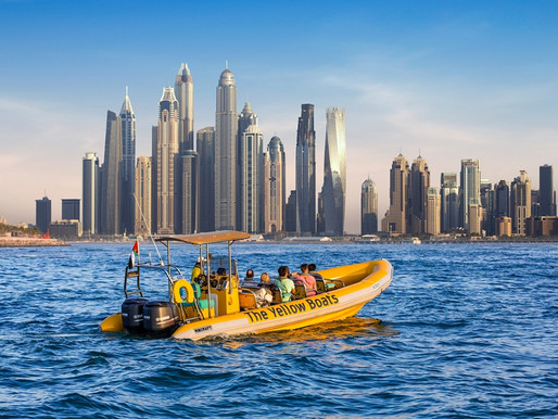 Book Tickets: The Yellow Boats – Palm Jumeirah, Burj Al Arab & Marina Tour