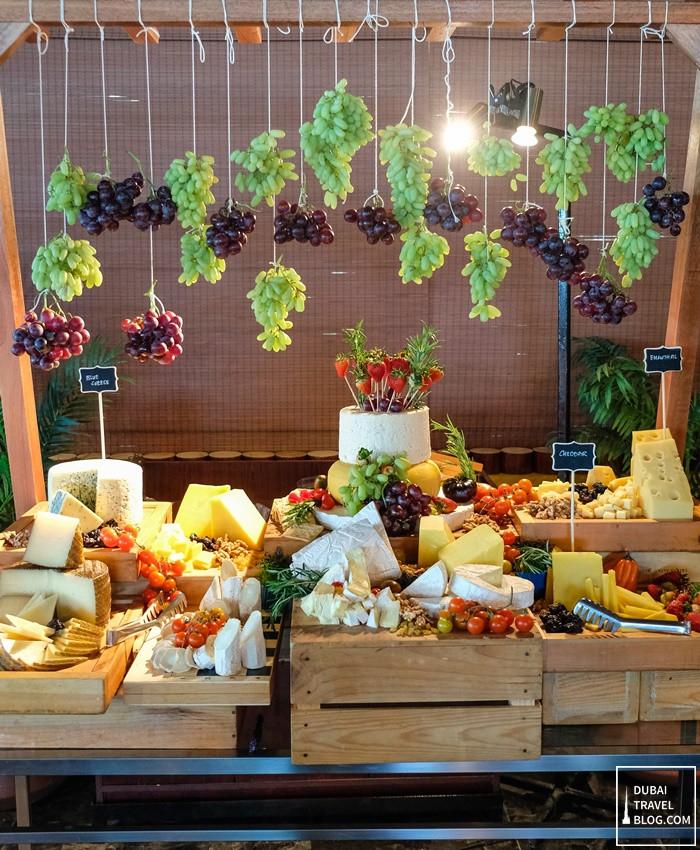 waves restaurant cheese buffet