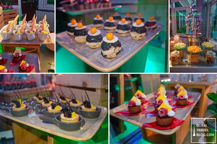 pergolas italian desserts