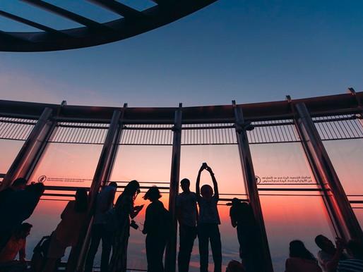 Sunrise Experience At The Top of Burj Khalifa