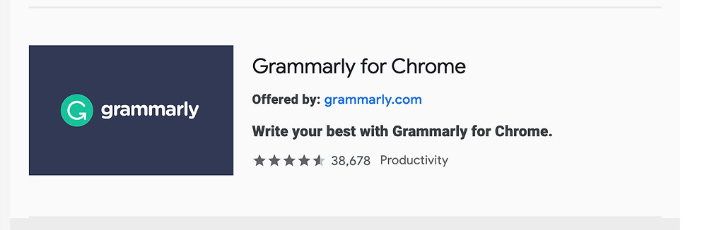 How to add Grammarly to the Chrome browser