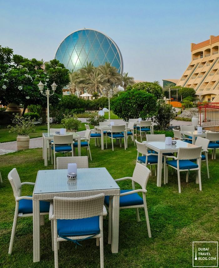 azur restaurant view