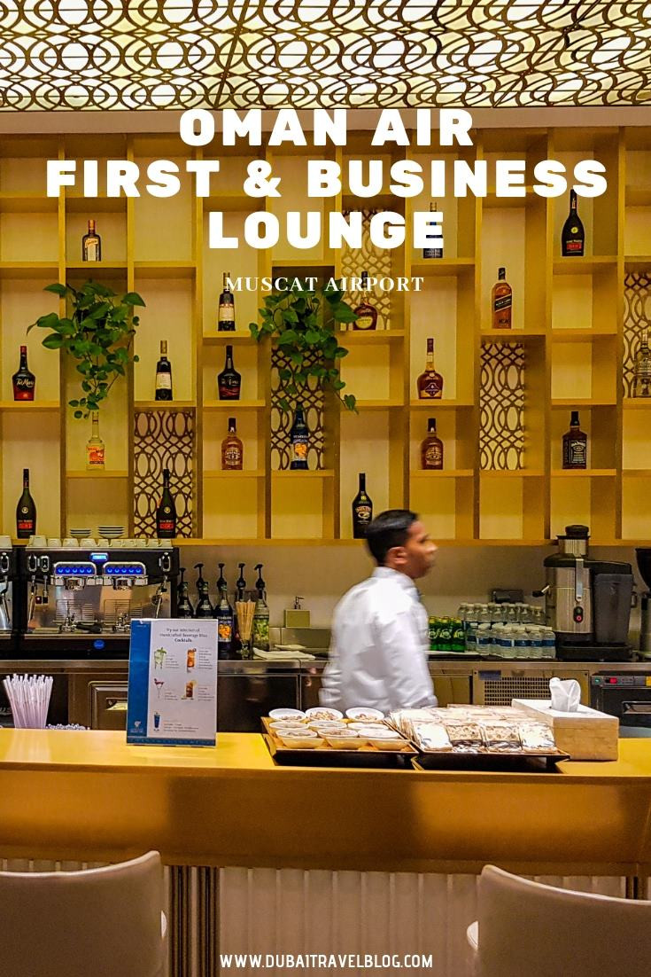 Oman Air First and Business Lounge in Muscat Airport