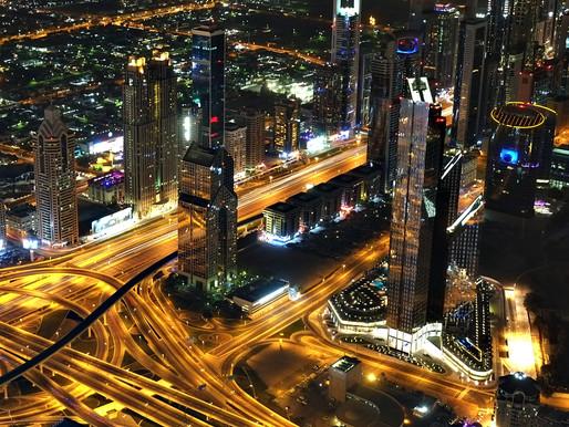 10 Photos of Dubai at Night from Burj Khalifa's At the Top Experience