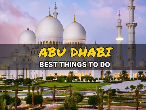 24 Best Things to Do in Abu Dhabi