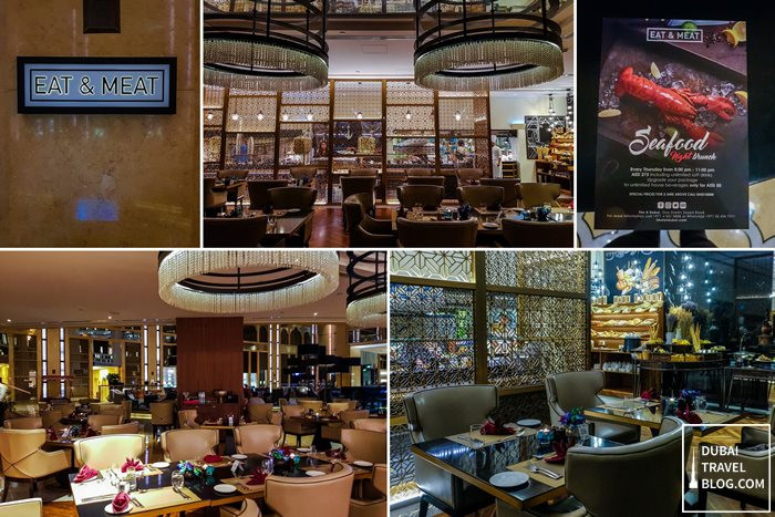 Eat and Meat restaurant dubai h hotel