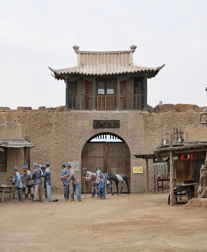 zhenbeibao west movie city yinchuan ningxia