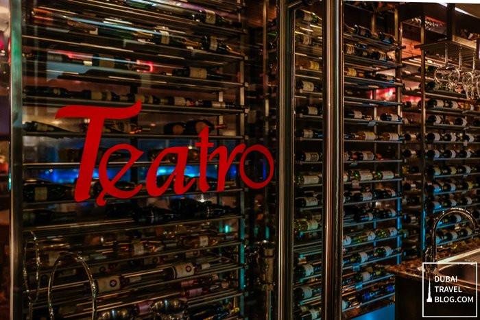 Teatro wine cellar