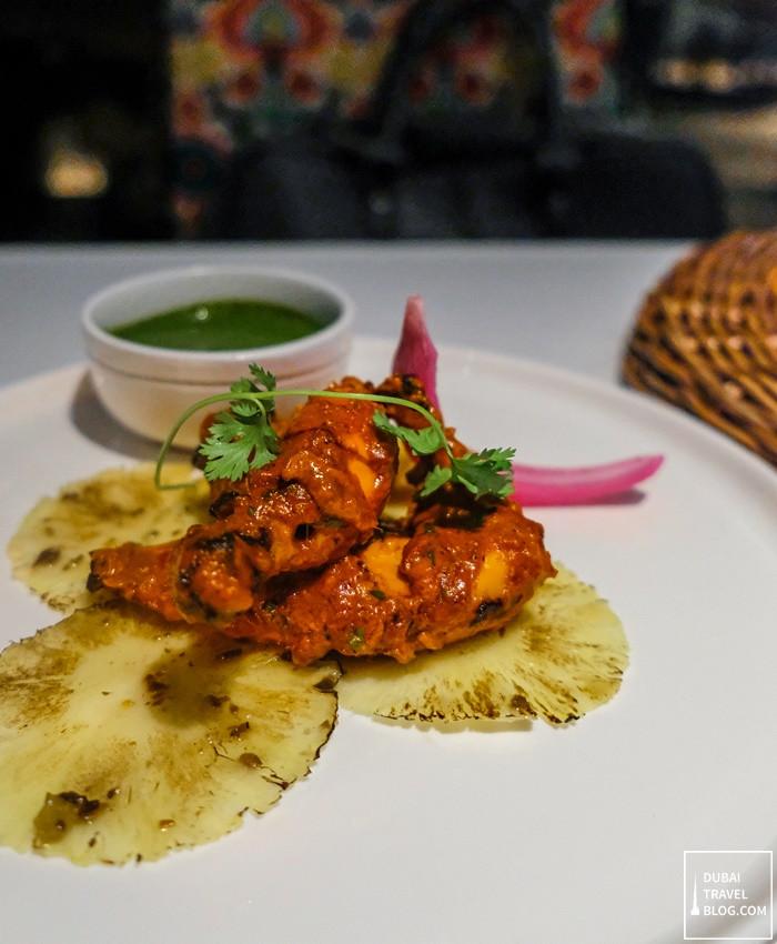 tandoori chicken tresind dubai