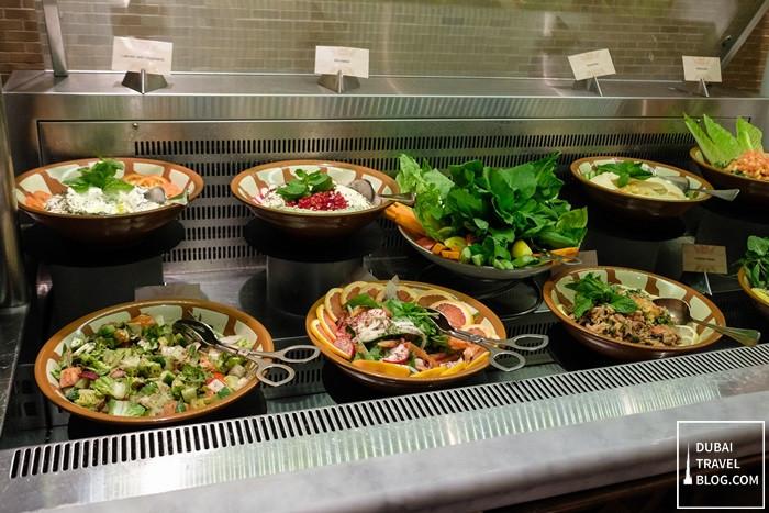 salads cold mezze arabesque