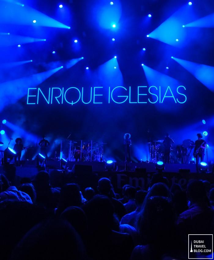 enrique iglesias concert in dubai picture