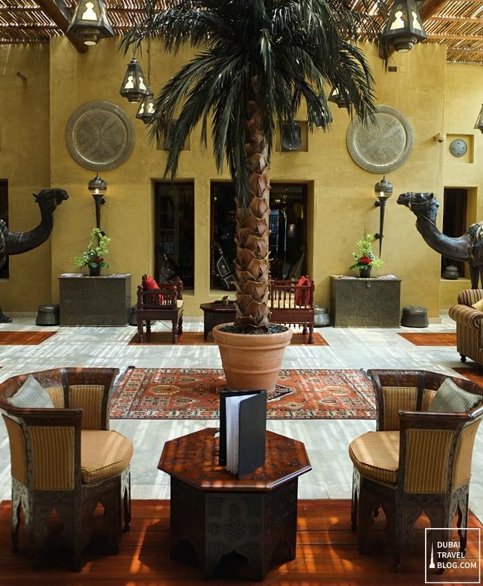 bab al shams lounge area