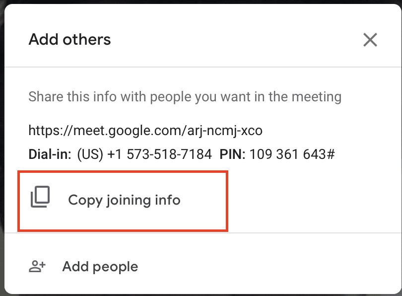 how to use google meet on PC