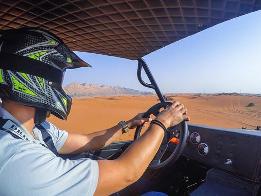 Desert Fox Dune Buggy Adventure at Mleiha Desert