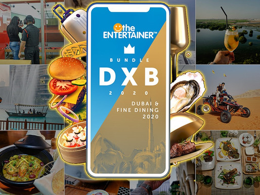 GIVEAWAY: the Entertainer Dubai & Fine Dining Bundle 2020