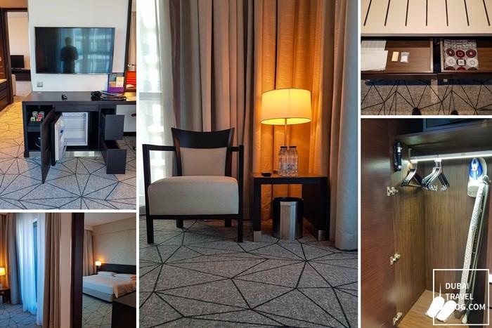 hyatt place jumeirah bedroom suite
