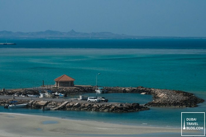 sir baniyas island view from danat jebel dhanna