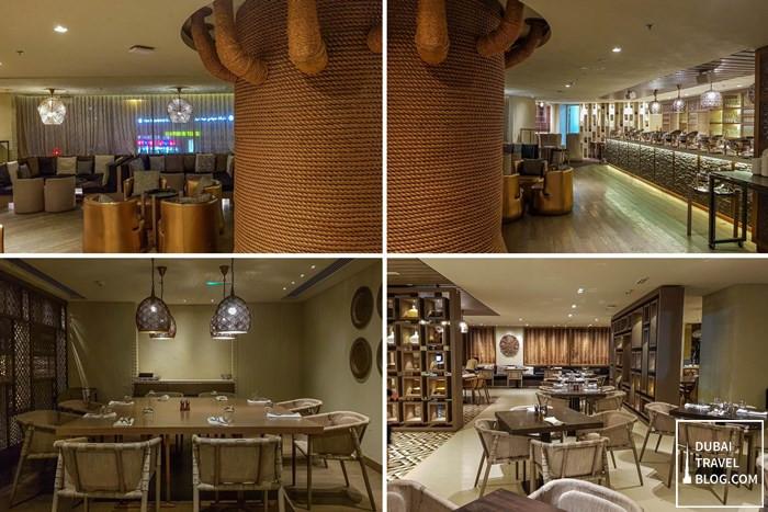 inside aseelah restaurant dubai review
