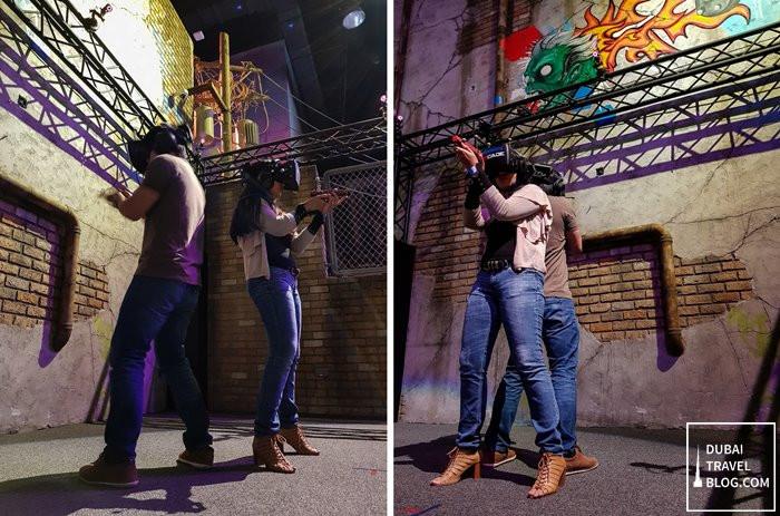 hub zero dubai virtual reality game zone