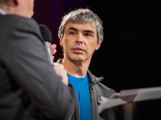 Larry Page: Where's Google going next?