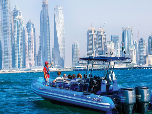 Book Tickets: Sightseeing Boat Tour to Ain Dubai, Atlantis The Palm, Burj Al Arab