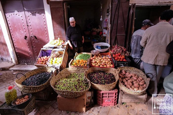 fes market morocco