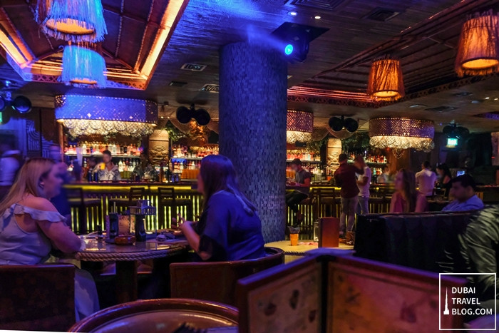mahiki bar dubai jumeirah beach hotel