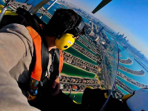 My Gyrocopter Flight Experience in Dubai