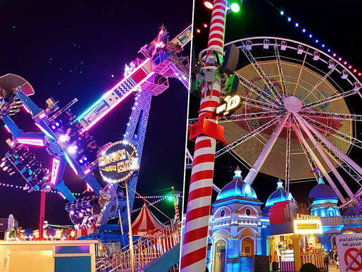 Full List of Rides at the Carnaval in Global Village