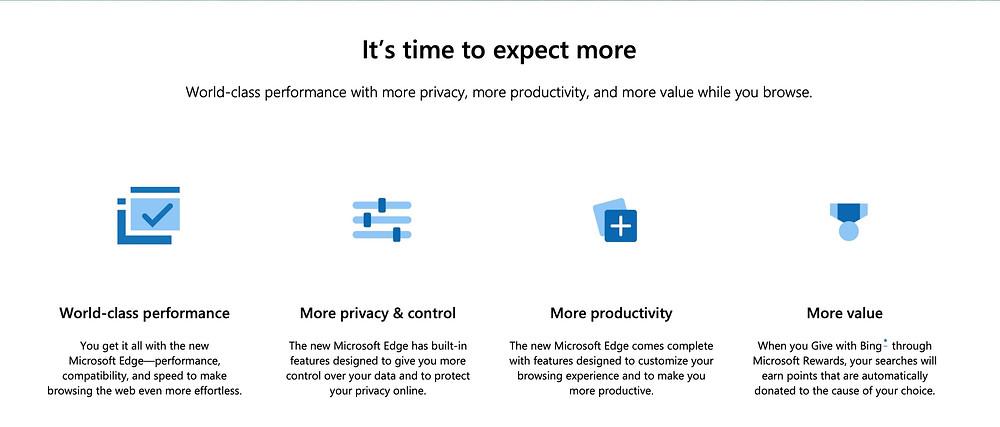 Do you need Microsoft Edge with Windows 10 ?