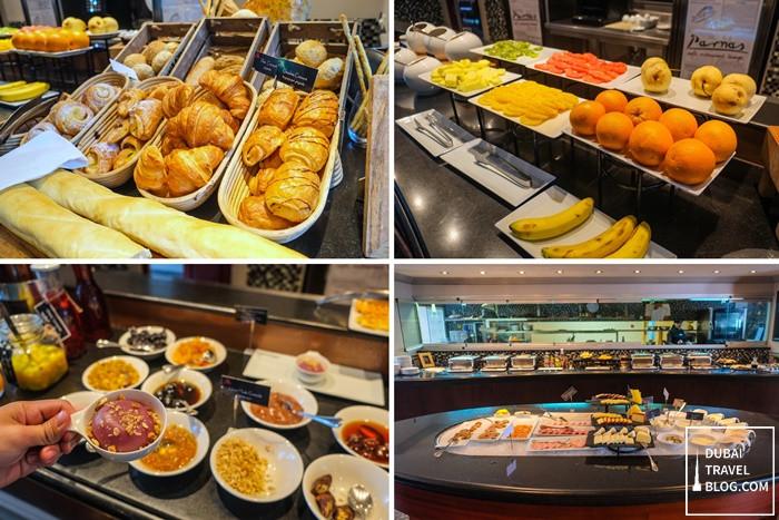 parnas cafe breakast tbilisi marriott