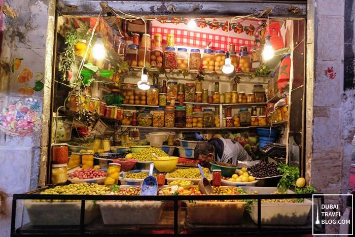colorful shop fes morocco