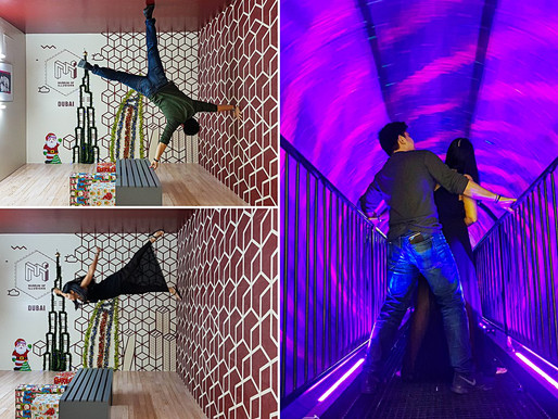 Our Visit to the Museum of Illusions in Al Seef Dubai