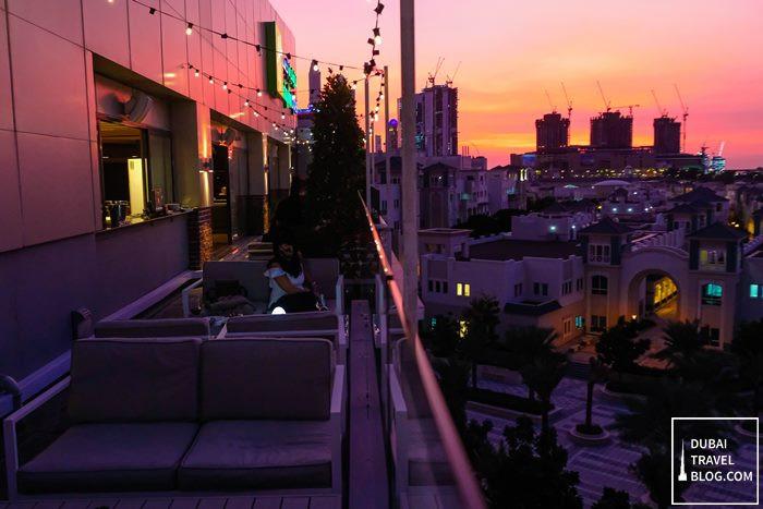 hi five dubai sunset