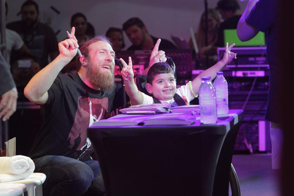 Daniel Bryan wows crowds at Games 15