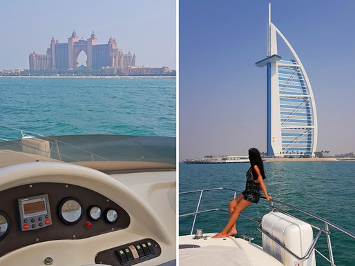 4-Hour Private Yacht Cruise in Dubai with Cozmo Yachts