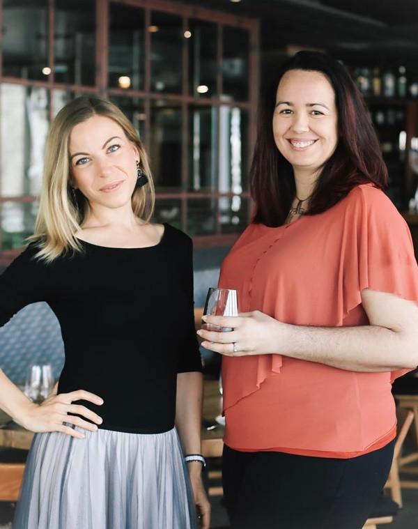 Tani & Paula of @5toConnect