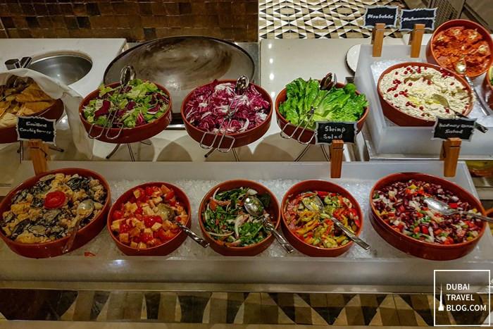 salads turkish night aseelah