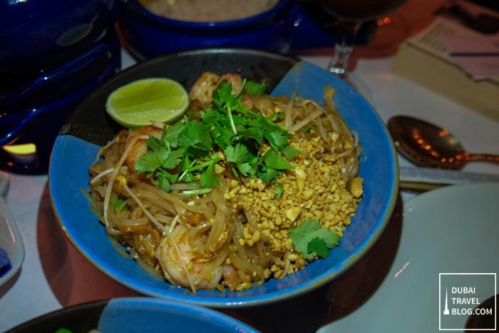 pad thai noodles blue elephant dubai