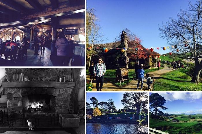 hobbiton movie set tour in new zealand