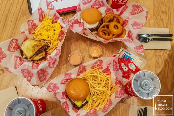 freddys dubai mall steakburger