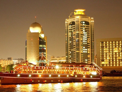 Book Tickets: 5-star Dinner Cruise in Deira Creek